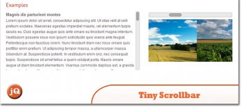 jQuery плагин Tiny Scrollbar